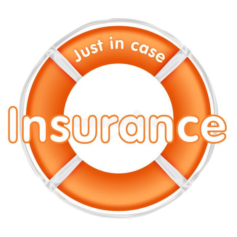 försäkringlifesaver stock illustrationer