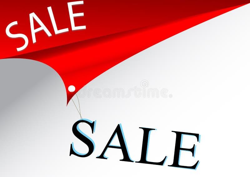 försäljning stock illustrationer