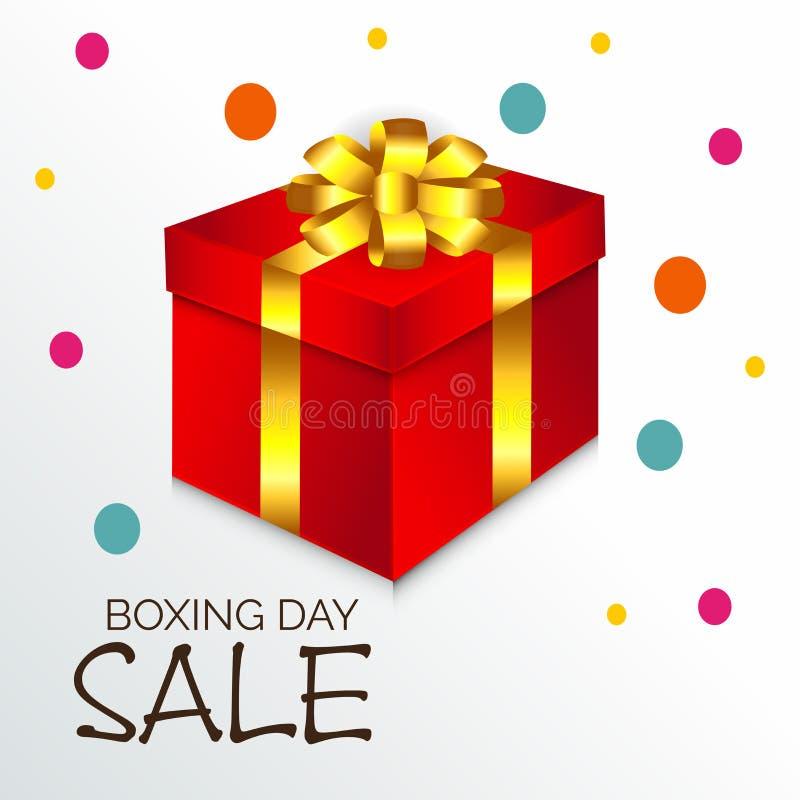 Försäljning för boxningdag vektor illustrationer