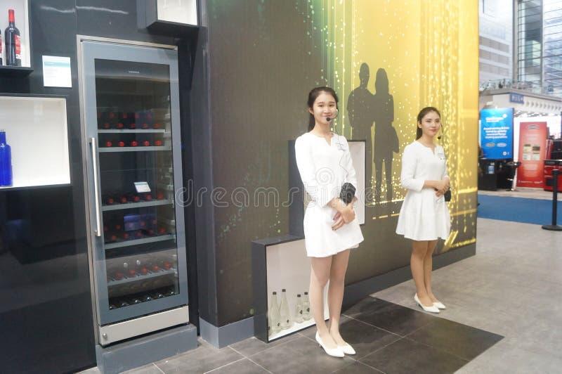 Försäljningar för utställning SIEMENS för hem- anordning royaltyfria bilder