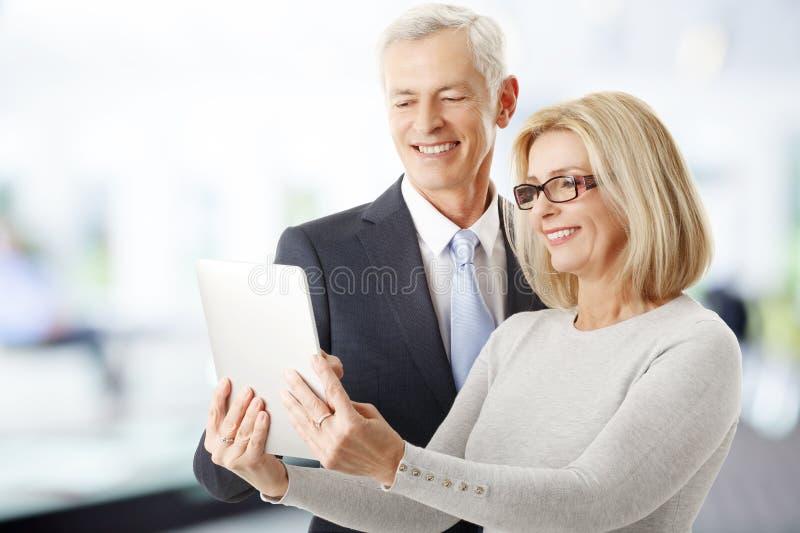 Försäljningslag på arbete royaltyfri foto