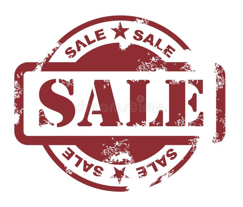 försäljningsstämpel stock illustrationer
