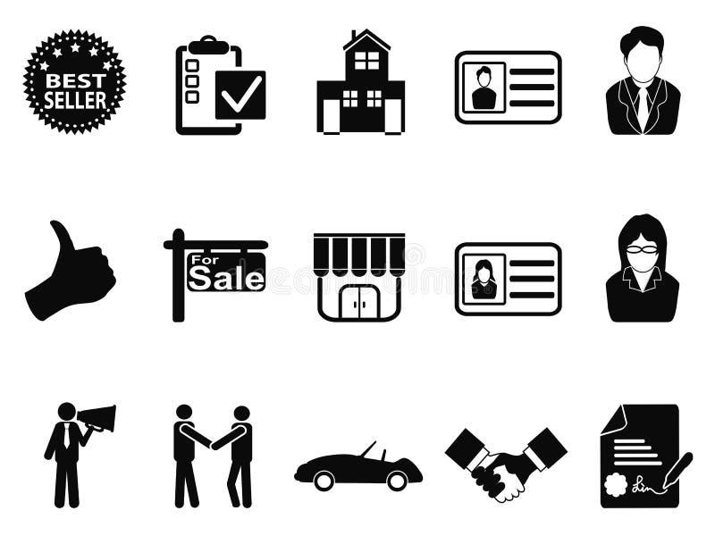 Försäljningssymbolsuppsättning royaltyfri illustrationer
