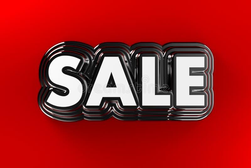 Försäljningstecken stock illustrationer