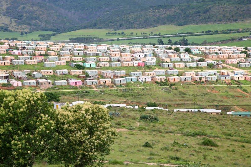Församling i South Africa arkivbild