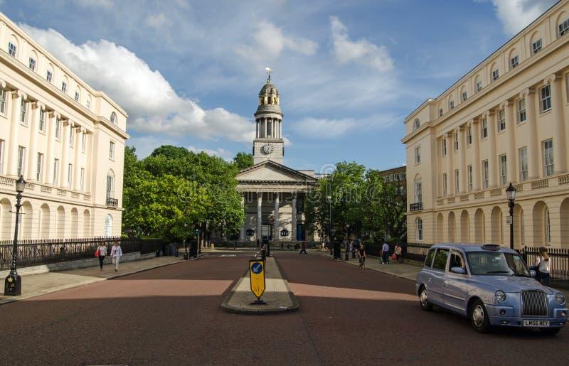 Församlingkyrka för St Marylebone, London royaltyfri foto