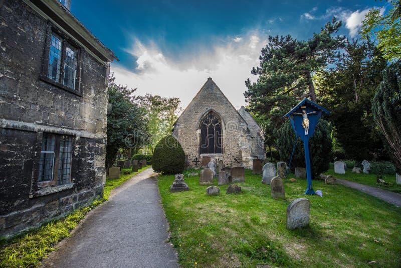 Församlingkyrkan av St Thomas martyren, Oxford royaltyfri fotografi