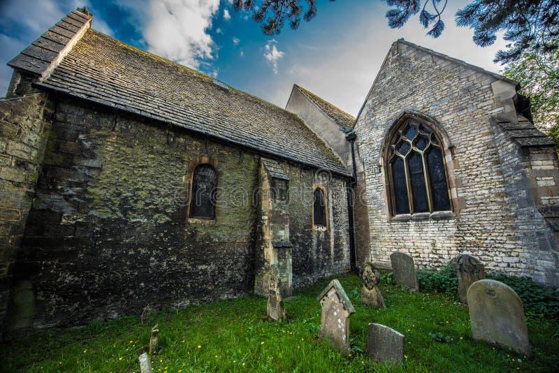 Församlingkyrkan av St Thomas martyren, Oxford arkivbild