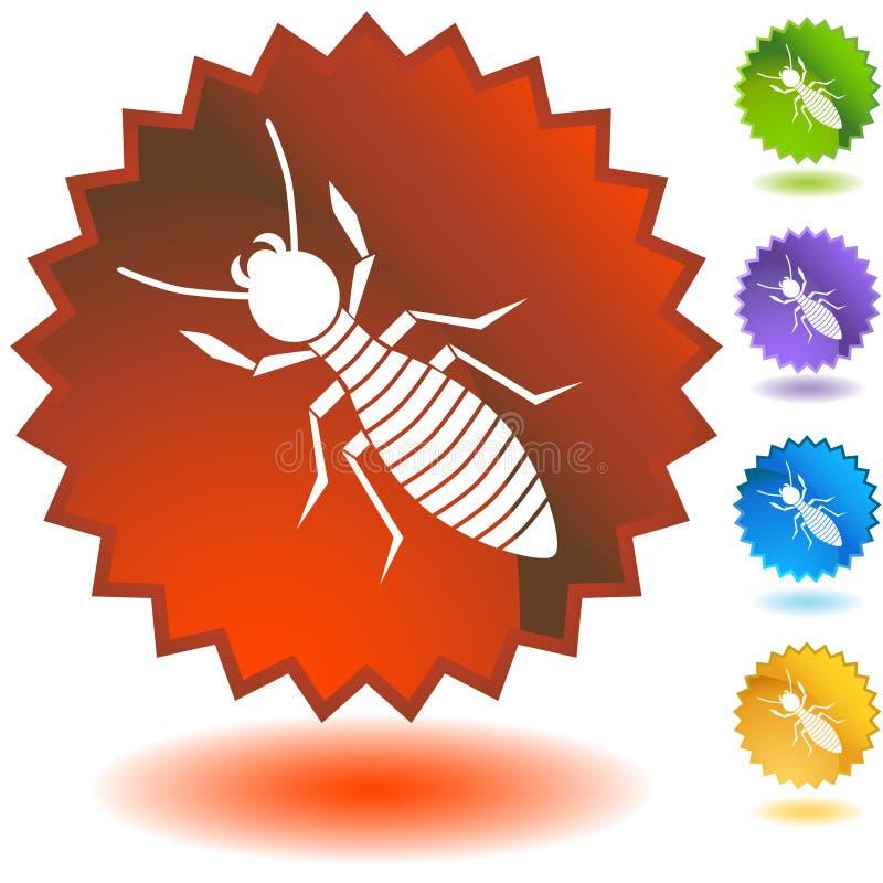 försegla den set termiten stock illustrationer