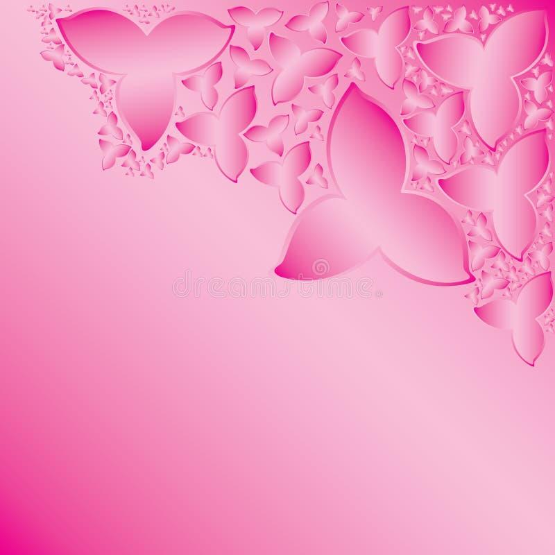 försiktig pink royaltyfri illustrationer