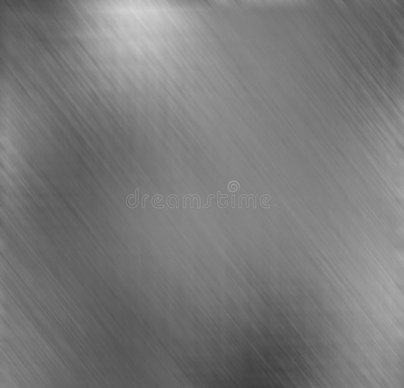Försilvra metallisk bakgrund royaltyfri illustrationer