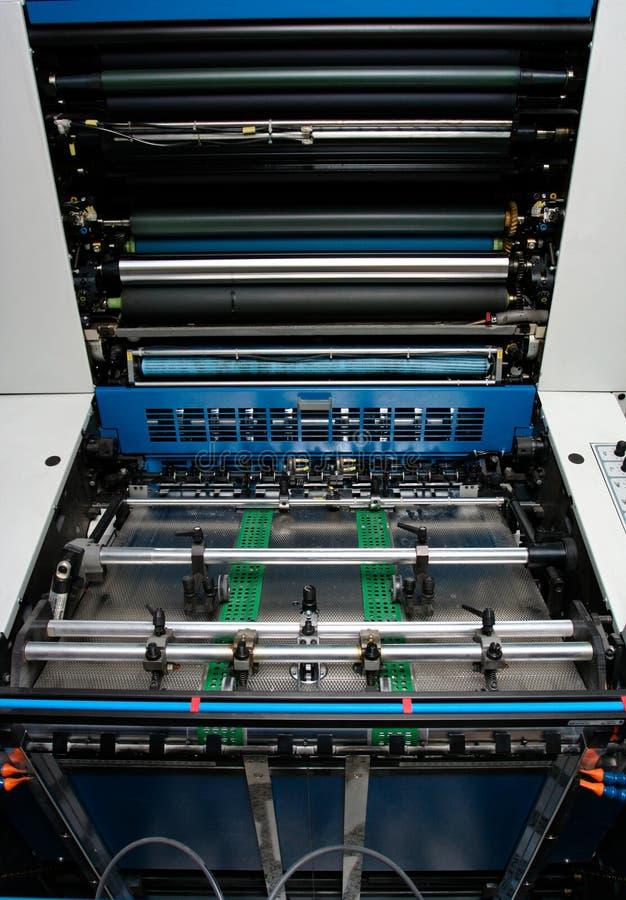 förskjuten tryckprinting för industri maskin royaltyfri bild