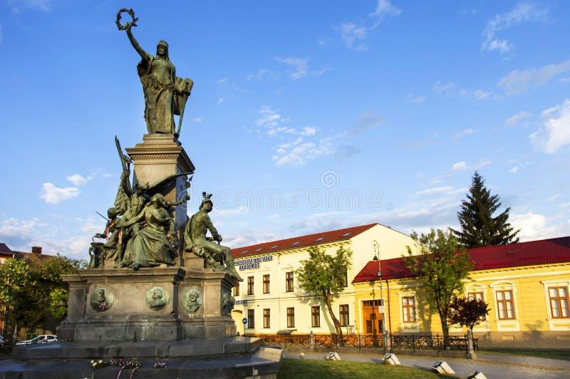 Arad Rumänien försoning parkerar av arad rumänien arkivfoto bild av bygger