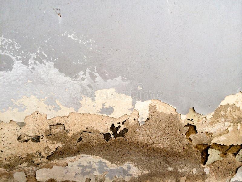 Förstörd vägg arkivfoton