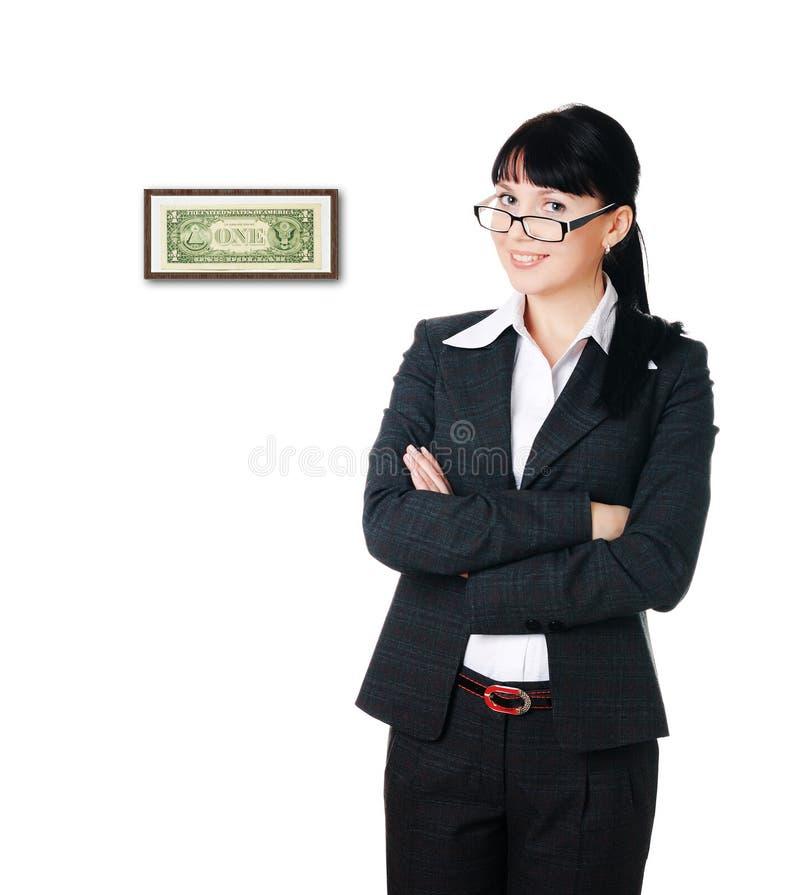 Första tjänade dollar arkivfoton