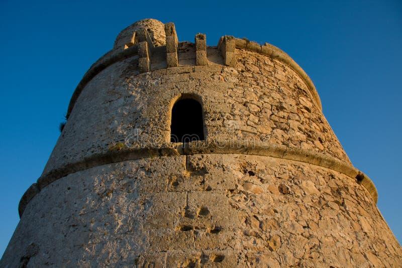 försvarformentera gammalt torn arkivfoto