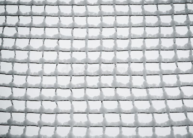Förtjäna för ingrepp som täckas med snö Raster i snön royaltyfri fotografi