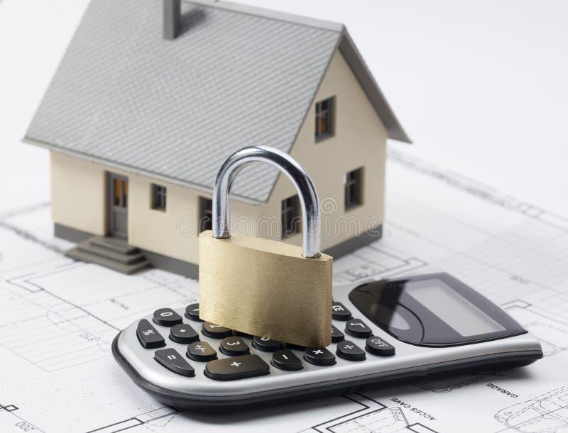 Förtrolig hem- renoveringförlängningsstudie arkivfoto