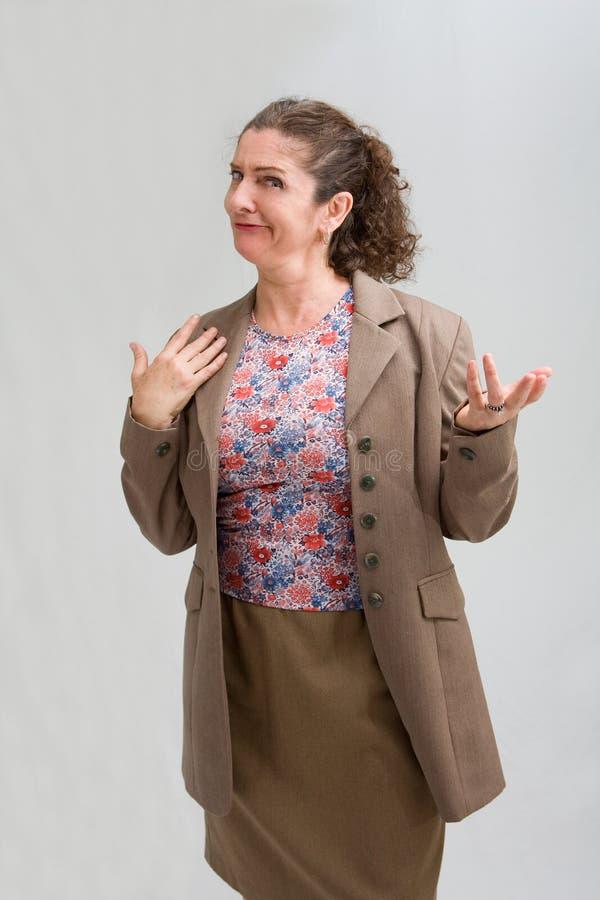 förvånad kvinna fotografering för bildbyråer