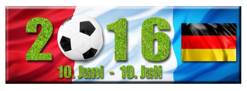 Fútbol 2016 foto de archivo libre de regalías