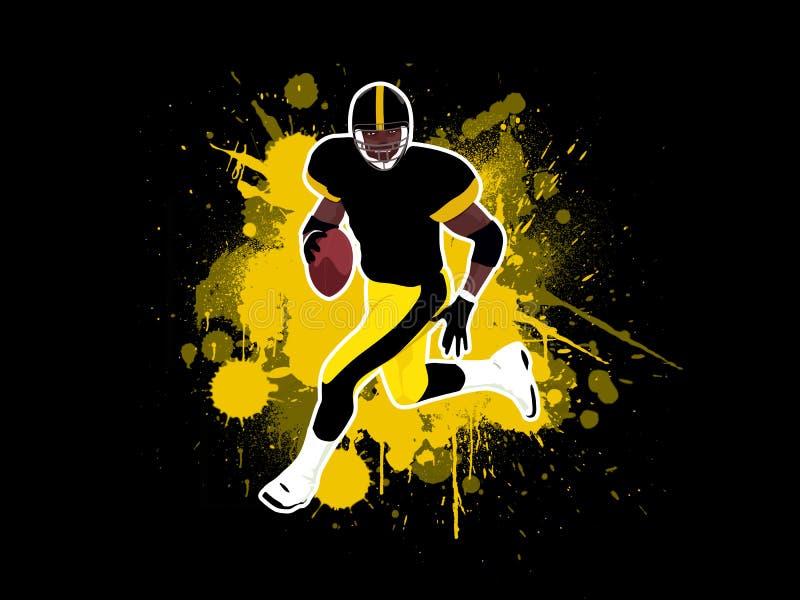 Fútbol americano 4 stock de ilustración