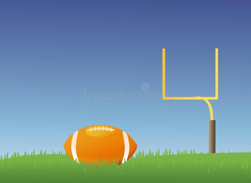 Fútbol americano ilustración del vector