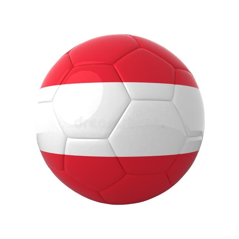 Fútbol austríaco. stock de ilustración