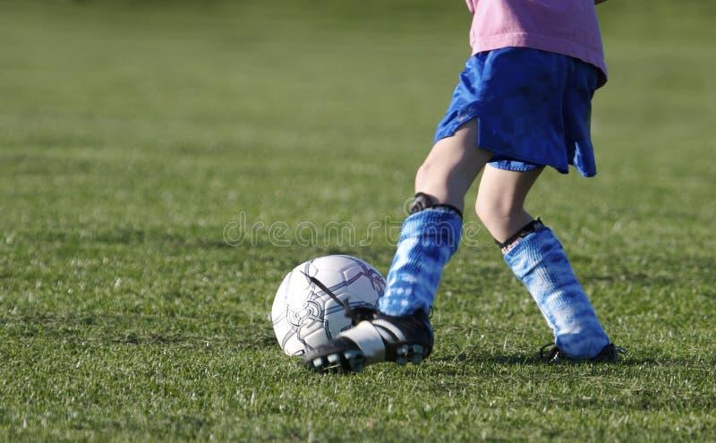 Fútbol de la juventud foto de archivo