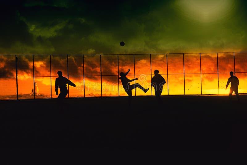 Fútbol de Rasta fotos de archivo