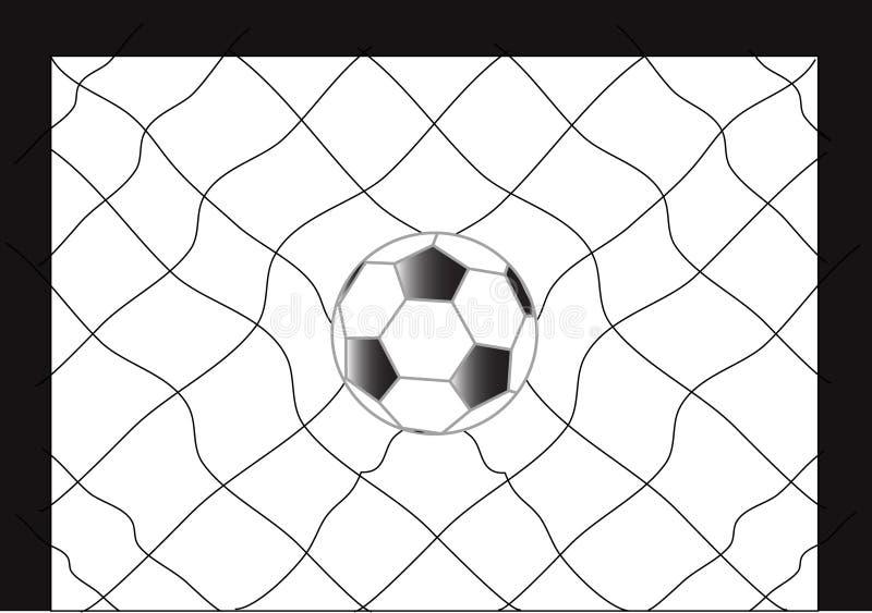 Fútbol del balompié ilustración del vector