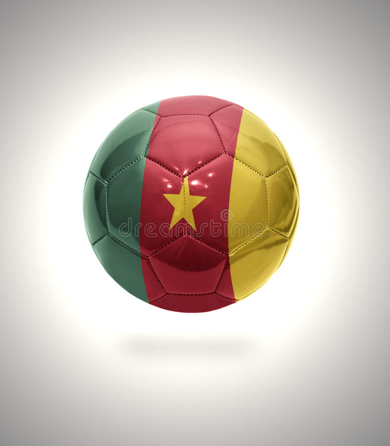 Fútbol del Camerún fotos de archivo