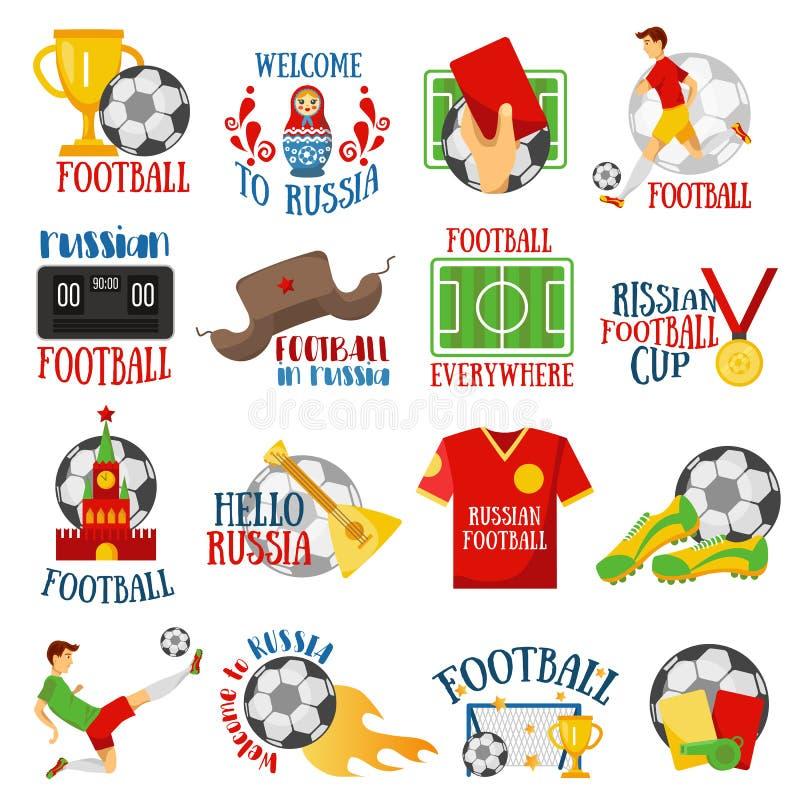 Fútbol en Rusia libre illustration