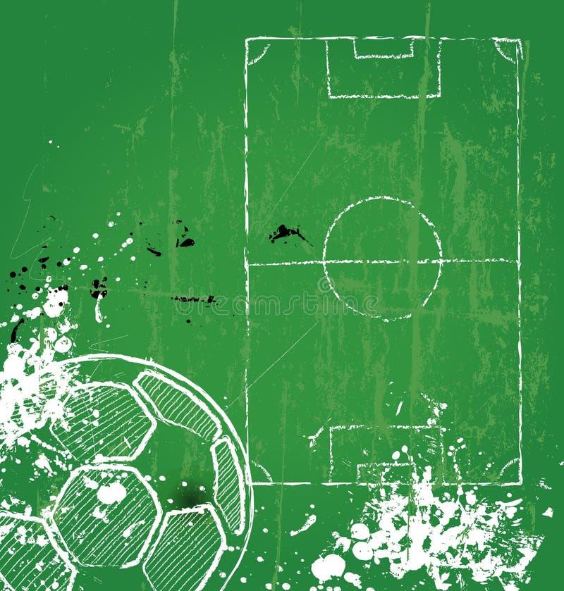 Fútbol/fútbol ilustración del vector
