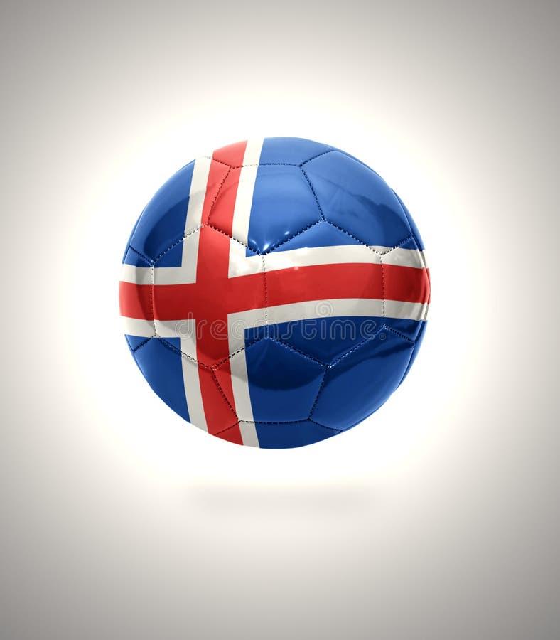 Fútbol islandés stock de ilustración
