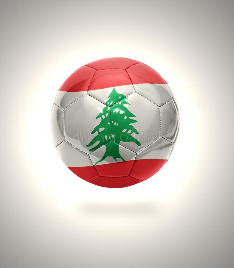 Fútbol libanés stock de ilustración