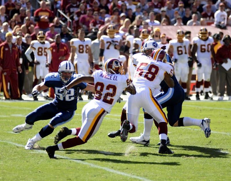 Fútbol profesional del NFL imagen de archivo libre de regalías