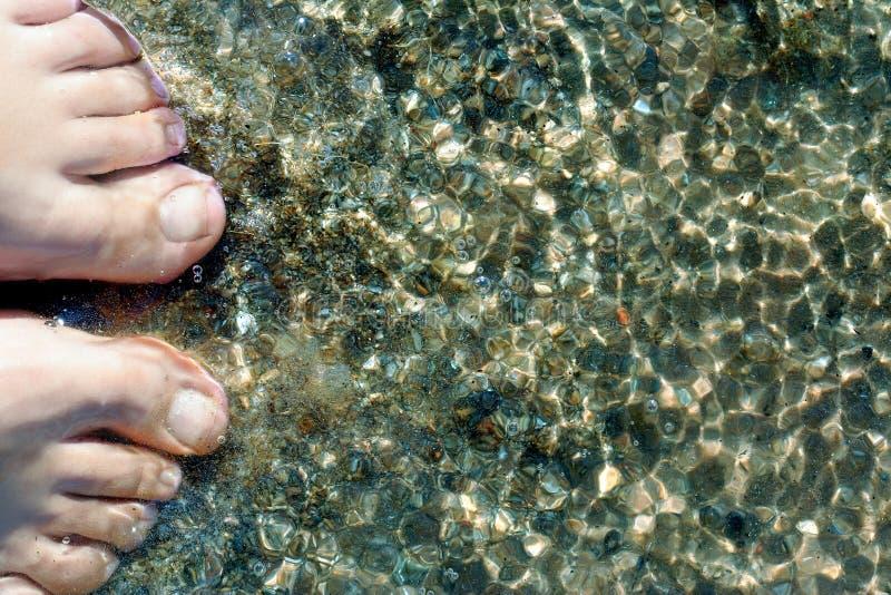 Füße lizenzfreie stockfotografie