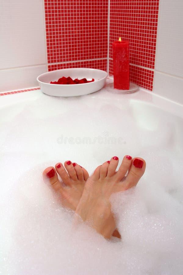 Füße lizenzfreies stockfoto