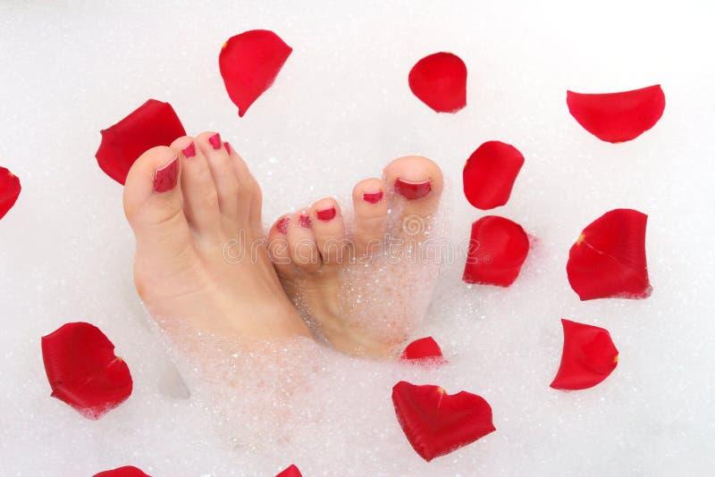 Füße lizenzfreie stockbilder