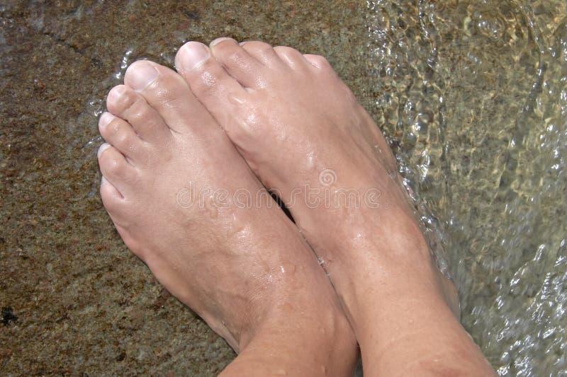 Füße lizenzfreie stockfotos
