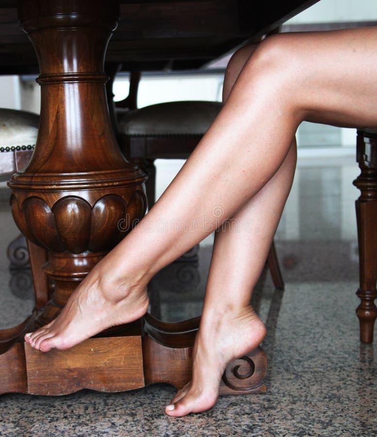 Füße Bein- stockbilder