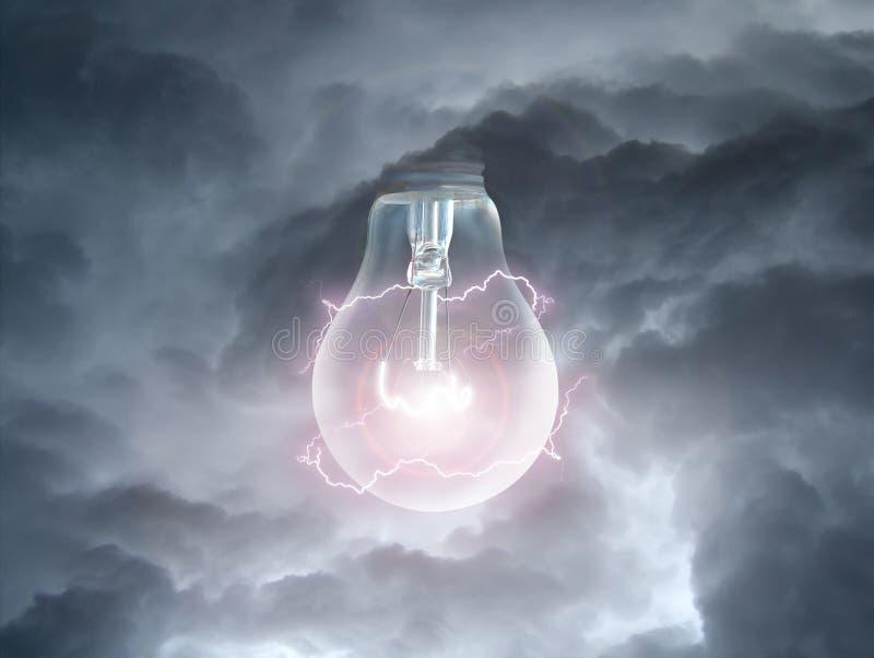 Fühler in den Wolken lizenzfreie stockfotos