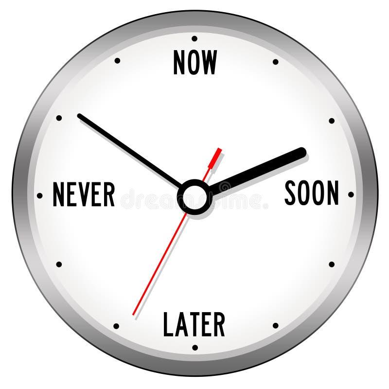 Führen von Zeit stock abbildung