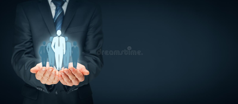 Führer und CEO lizenzfreies stockbild
