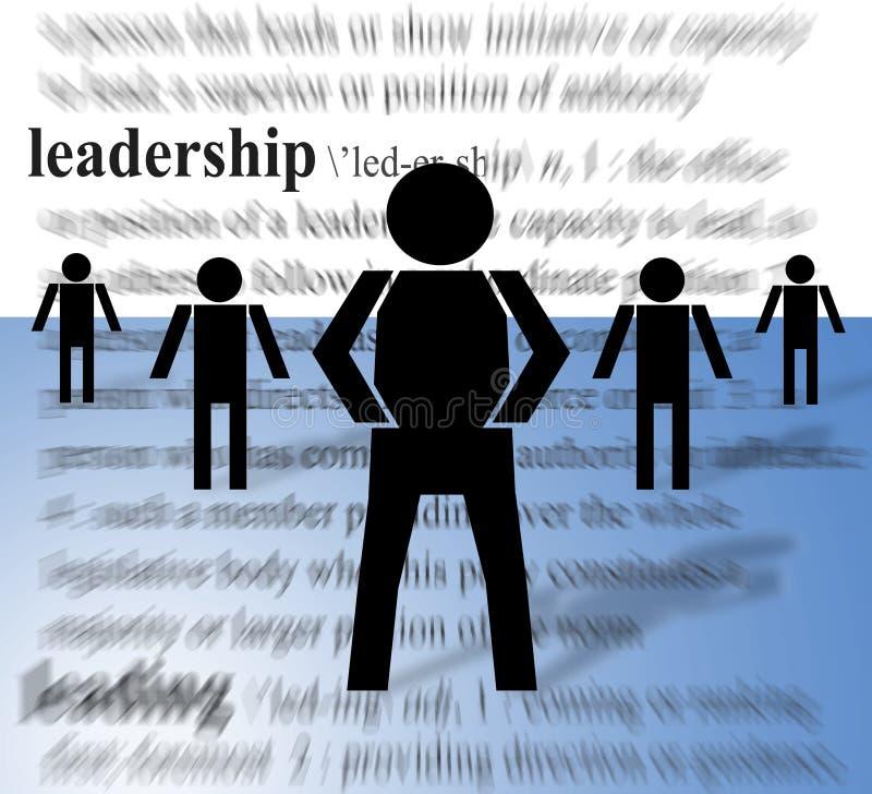 Führer und Nachfolger lizenzfreie abbildung