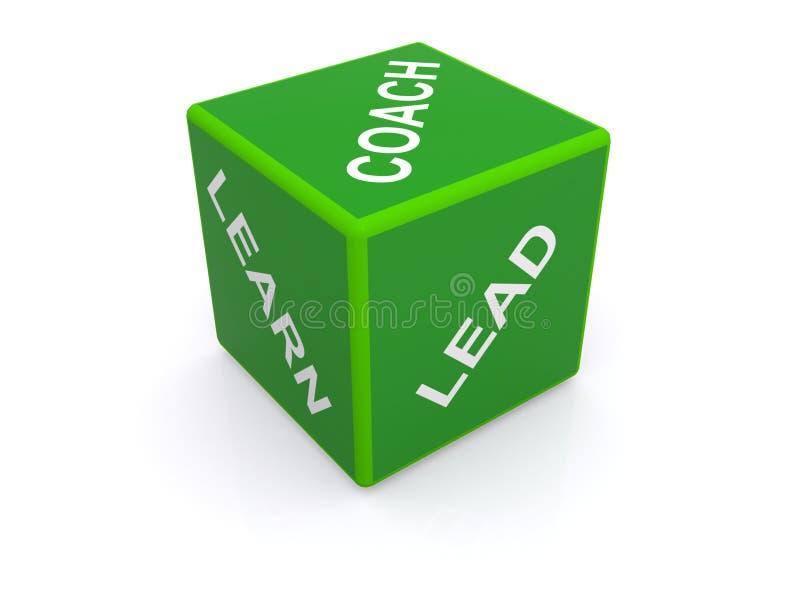 Führung, lernen und trainieren  stockfoto