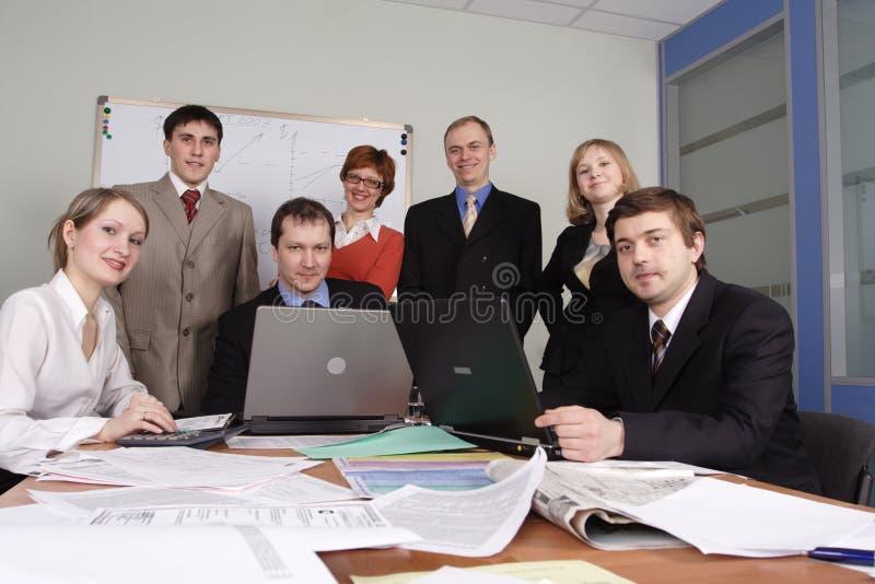 Führunggeschäft lizenzfreies stockfoto