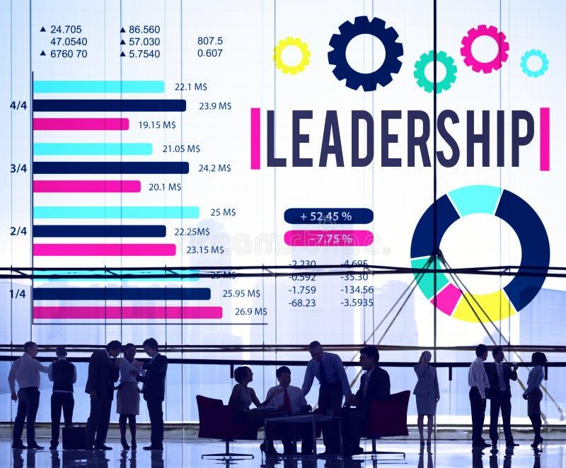 Führungs-Führer-Coaching Director Manage-Konzept lizenzfreie stockbilder