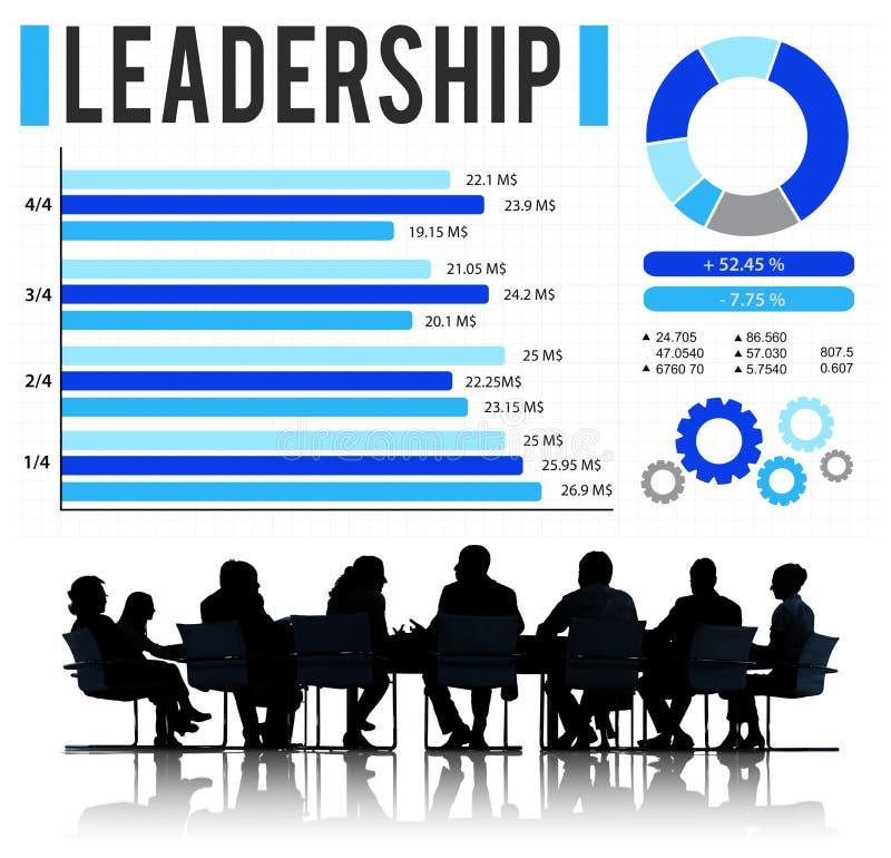 Führungs-Führer-Coaching Director Manage-Konzept stockbild