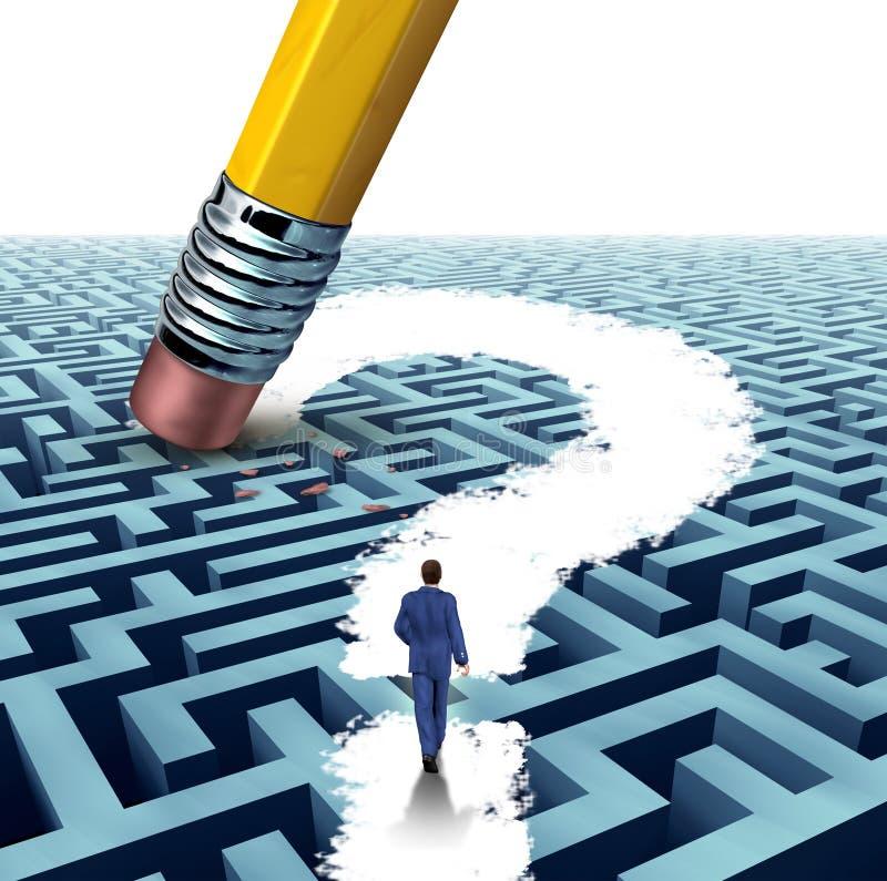 Führungs-Fragen vektor abbildung